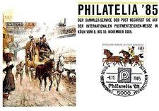 BRD MK POSTKUTSCHE PFERD HORSE CHEVAL MAXIMUMKARTE CARTE MAXIMUM CARD MC h0002