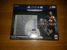 Brand New PS4 Pro God of War Limited Edition Console and Game Playstation 4!