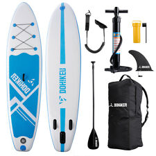 Tabla de Surf Hinchable remar de pie Paddle Board 300 x 76 x 15cm con Remo Bomba