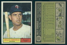 (46892) 1961 Topps 504 Billy Consolo Twins-EM