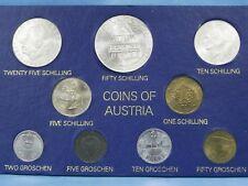 1973 Austria coin set