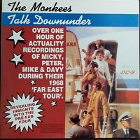 "Monkees - Talk Downunder. 1988 Aussie Only 12"" Gatefold LP. Autographed By Davy"