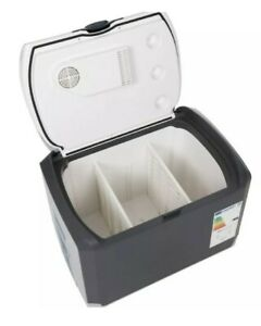 HALFORDS 40 LITRE MAINS ELECTRIC COOLBOX - CAMPING, TRAVELLING READ