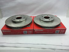 2-Brembo 25488 Front Disc Brake Rotor Toyota 4Runner & Tacoma for 16 inch wheels