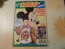 JOURNAL DE MICKEY N°2087 19 JUIN 1992 HARLEY MOTOS DES STARS RIO 92       D40
