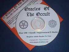 Oracles Of The Occult > 150 Occult / Supernatural eBooks CD - Witch Pagan Wicca