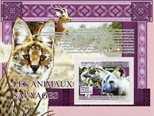 Guinea Wild Animals Stamps 2009 Mnh Wild Dogs Antelope Mammals Fauna 1v S/S