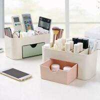 Plastic desktop cosmetic box with small drawer desk box storage K6R3