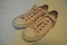 Converse Chuck Taylor Light Pink Leather Shoes Women's Size 9 US