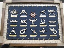 Knot picture display nautical rope rigging sail yacht ship ocean boat marine