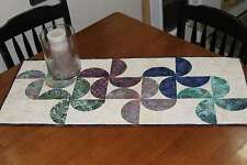 BLOSSOMS TABLE RUNNER SEWING PATTERN, From Cut Loose Press Patterns NEW
