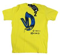 BRAND NEW DSQUARED2 S71GD0217 172 YELLOW T-SHIRT