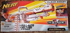 ONLY 1! NERF N strike Elite SONIC CLEAR VULCAN mini Machine gun - Blaster dart
