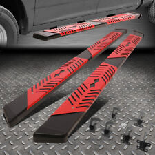 For 09 20 Dodge Ram Crew Cab 55 Nerf Bar Running Board Withpattern Step Plate Fits Dodge Ram 1500
