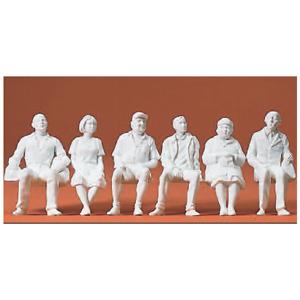 """Preiser 44905 échelle 1:22,5 personnages /""""DANS LE WAGON/"""" peinte à la main #neu dans neuf dans sa boîte #"""