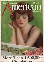 1921 American January - Norman Rockwell; Clarence Budington Kelland; C Underwood