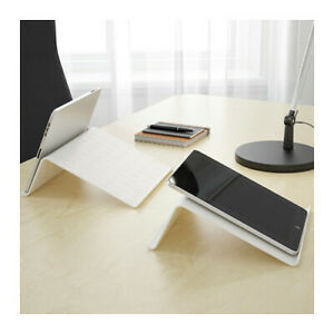 IKEA ISBERGET Tablet stand, White, 25x25 cm