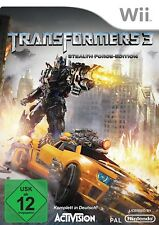 Nintendo Wii Spiel Transformers 3 - Dark of the Moon - Stealth Force Edition NEU