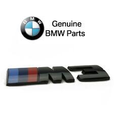 For BMW F80 M3 3.0L L6 Rear Trunk Black Competition Emblem 51148068580 GENUINE