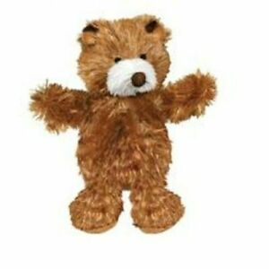 KONG Plush Teddy Bear X-Small - for miniture dog/puppies comes with extra squeak