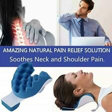 Neck And Shoulder Relaxer Neck Pain Relief Massage Pillow Support Pillow Ne F5X3