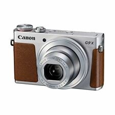 Near Mint! Canon PowerShot G9X Silver - 1 year warranty