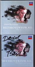 Daniel BARENBOIM Signiert BEETHOVEN 3CD Piano Concerto 1 2 3 4 5 Klavierkonzerte