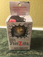 Nunzilla Walking Sparking Wind Up Toy 1997 in box