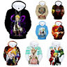 The Seven Deadly Sins 3D Print Hoodies Unisex Casual Pullover Coat Sweatshirt