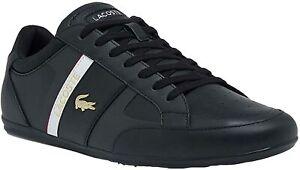 Mens Lacoste Chaymon Tech 0121 Sneaker - Black/White, Size 8.5 M