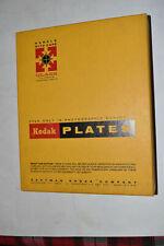 "Vintage Unopened Box of 12 Kodak #33 Positive Plates, 8x10"" Expired 1971"
