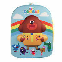 Hey Duggee Rainbow EVA 3D Multicolour Childrens Backpack School Bag Rucksack
