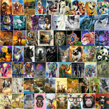 5D Full Drill Diamond Painting Animal World Mosaic Picture Embroidery Kits Mural