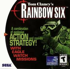 Rainbow Six DC New Sega Dreamcast