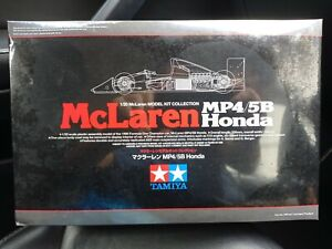 1/20 Tamiya McLaren Honda MP4/5B Senna Prost F1 1990 Champion Sealed