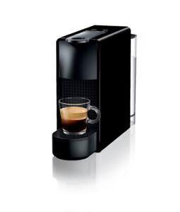 Nespresso Essenza Mini C30 Schwarz Kapselmaschine KRUPS NEU OVP 14 Probe Kapseln