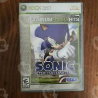 Sonic The Hedgehog Platinum Hits (  XBOX 360  ) TESTED