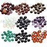 20 Half Round Cabochons Gemstone Flatback Cabochon Charms Jewelry Making 8mm