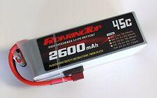 RoaringTop LiPo Battery Pack 45C 2600mAh 6S 22.2V with Deans Plug