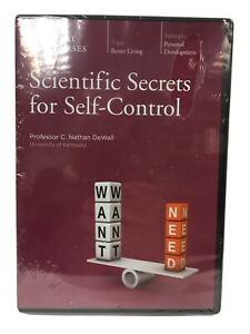 Great Courses DVD Scientific Secrets fro Self-Control by C. Nathan DeWall