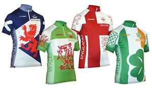 Impsport National Cycling Jersey: Scotland, Wales, Ireland & England Designs