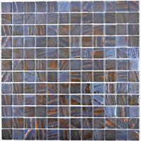 Mosaik Fliese ECO Recycling GLAS Rechteck bronze oxide 360-07_b