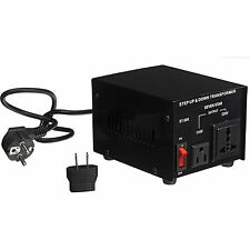 500 Watt 110 220 Volt Voltage Converter Up Down Power Transformer 500W Adapter