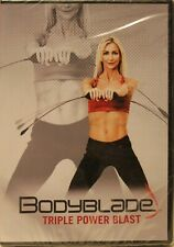 BodyBlade Triple Power Blast Workout Fitness Exercise DVD