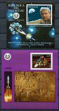 PARAGUAY 1977 Raumfahrt Space Weltraum Mars von Braun Block 308-309 ** MNH