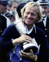 235128 Jack Nicklaus Golf Legend Holding Trophy WALL PRINT POSTER FR