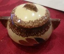Vaisselle miniature Mini COCOTTE MARMITE Quimper ?  pour la moutarde ?