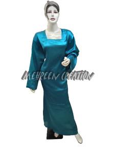 Woman Long Sleeve Sleepwear Nightwear Satin Undergarment casual Night Inner Wear