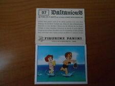 figurina DALTANIOUS n.97- ED. PANINI 1981 completa di velina
