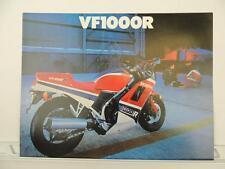 NOS 1986 Honda VF1000R VF1000 Dealer Brochure L1044